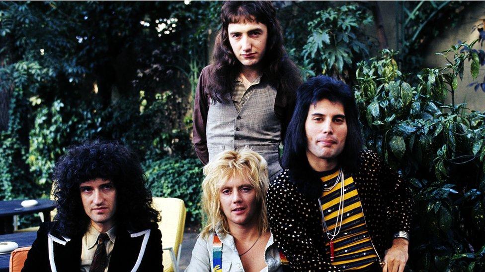 Miembros de Queen.