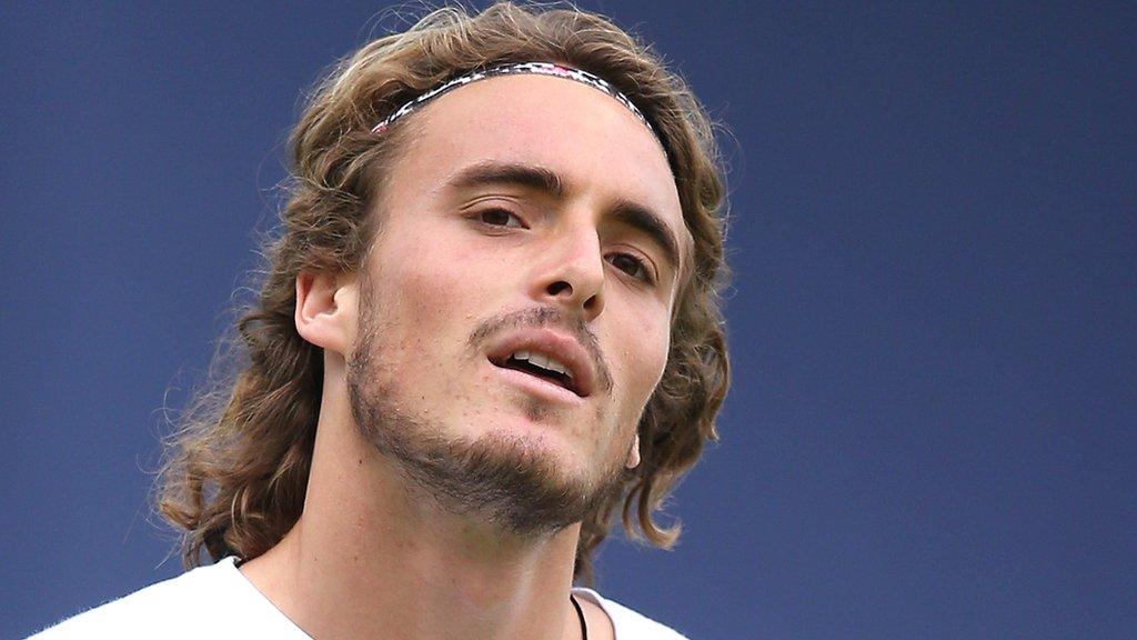 Wimbledon: Stefanos Tsitsipas targets 'big four' stranglehold