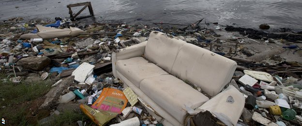 Pollution in the Guanabara Bay