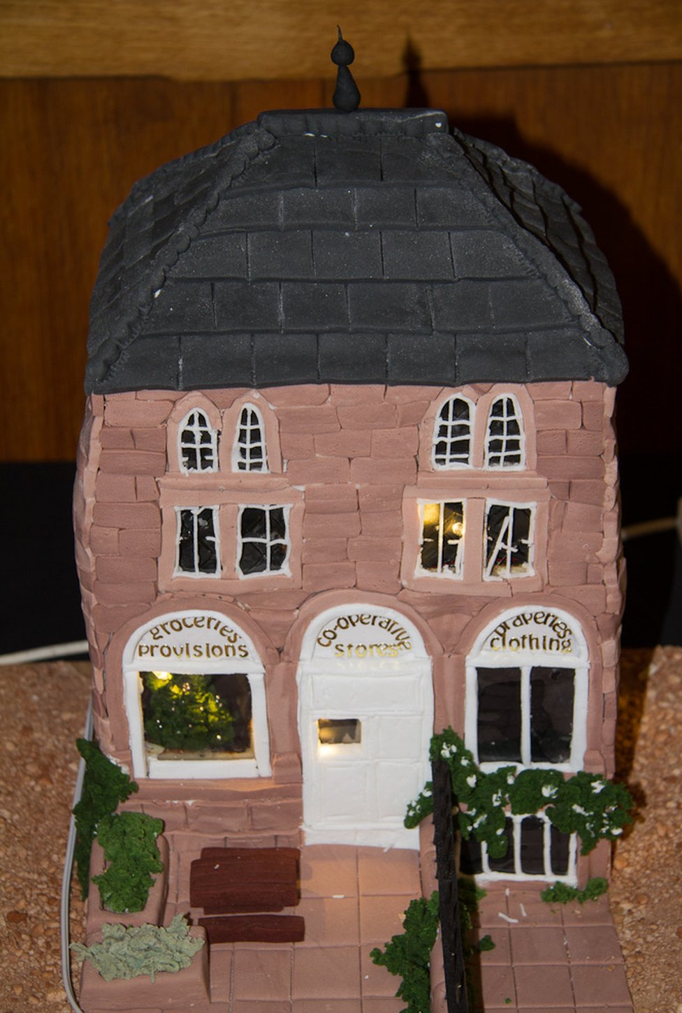 Co-op made from cake