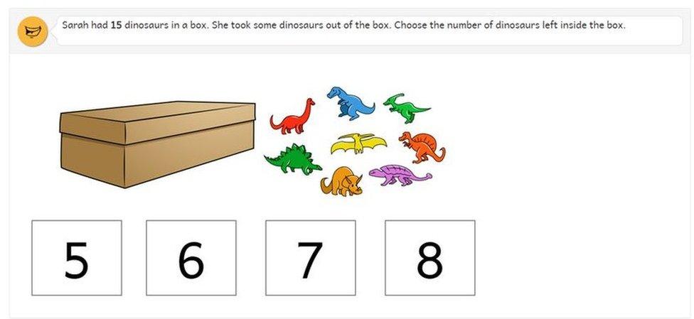 dinosaur test
