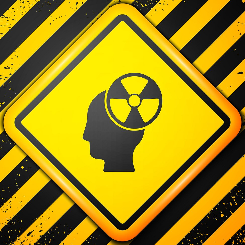 cerebro radioactivo