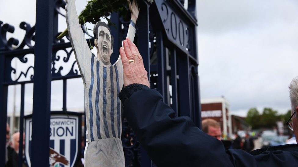 Gates at the Hawthorns