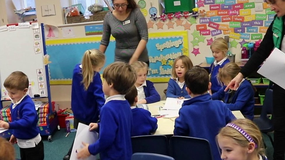 Pupils at Lincolnshire school in gender job role experiment