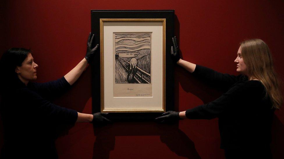 El Grito de Munch no muestra una persona gritando: Museo Británico