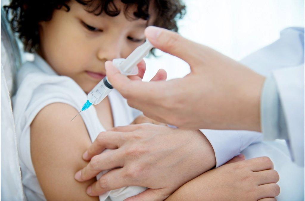 兒童接種流感疫苗