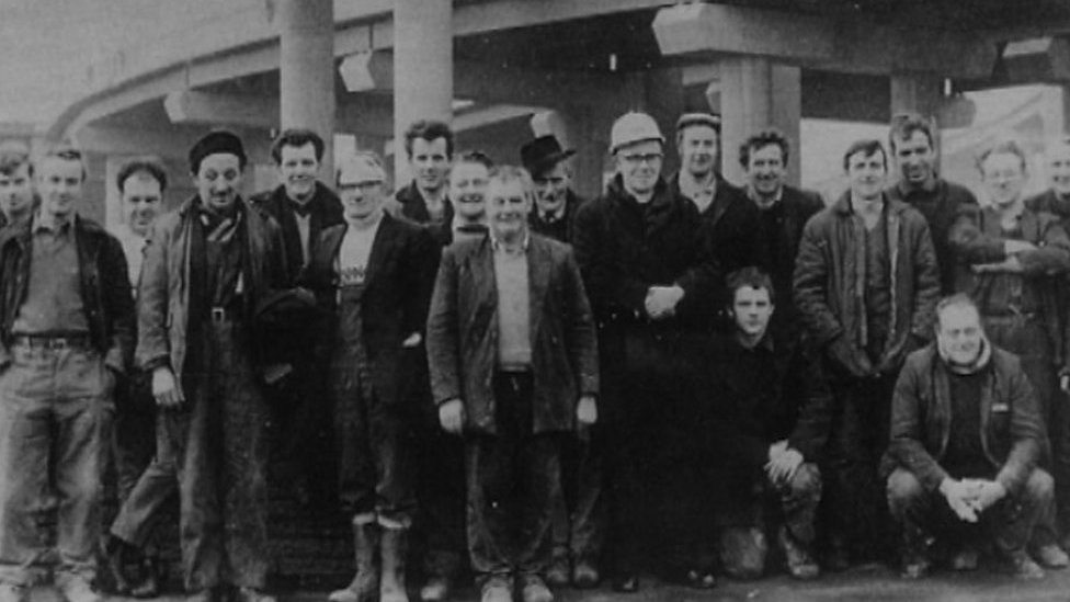 Spaghetti Junction workers