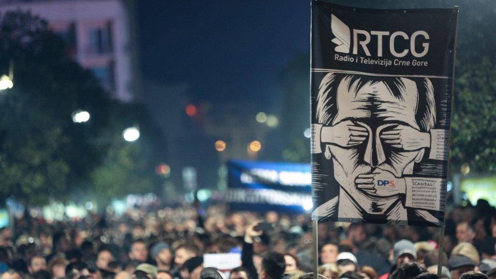 Podgoričani traže slobodu Javnog servisa Crne Gore