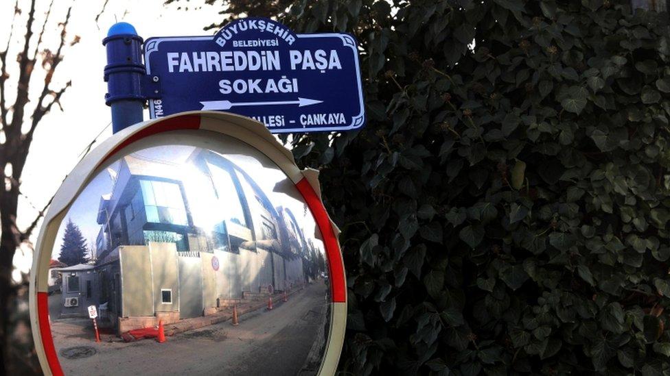Turkey Renames Uae Embassy Street After Minister Row Bbc News