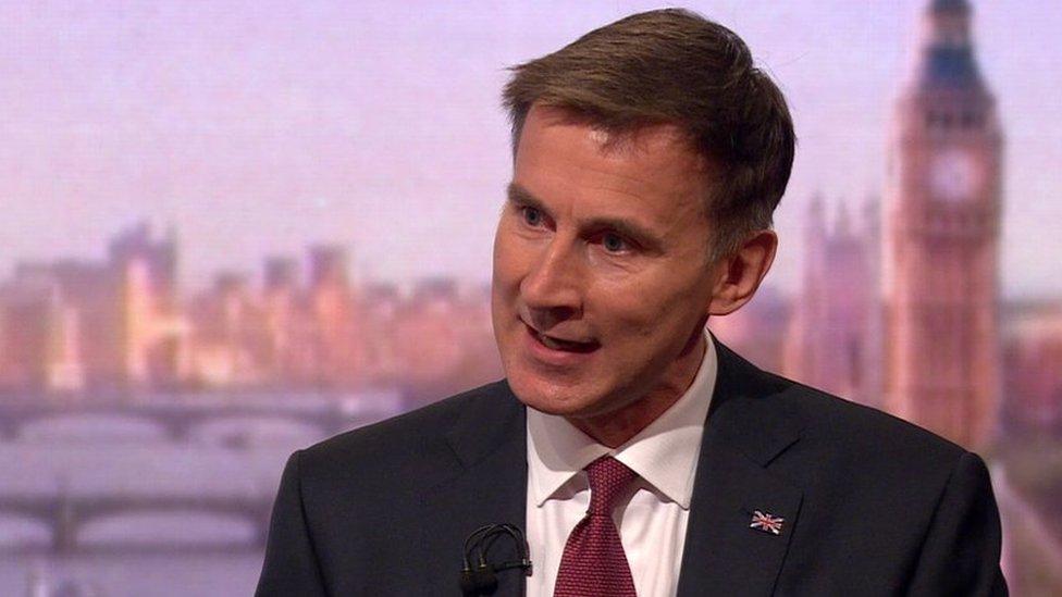 Tory leadership race: EU will renegotiate Brexit package, says Hunt