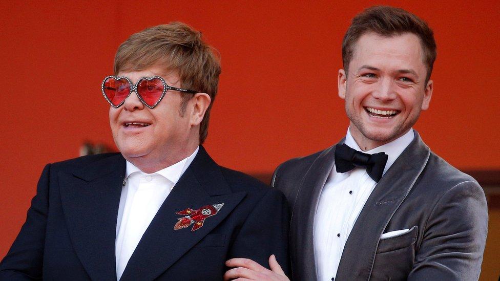 Sir Elton John is nominated, but Taron Egerton is not