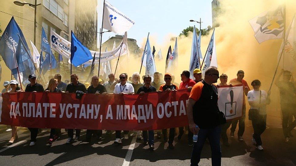 prvi maj u Srbiji