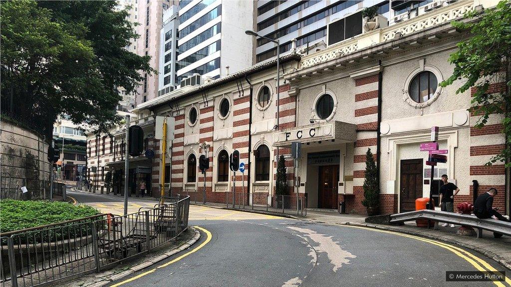 外國記者俱樂部大樓以前是一個冷藏倉庫。