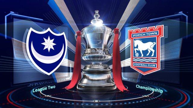 Highlights: Portsmouth 2-1 Ipswich