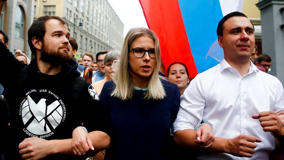 Соболь и Гудкову отказали в регистрации на выборах в Мосгордуму