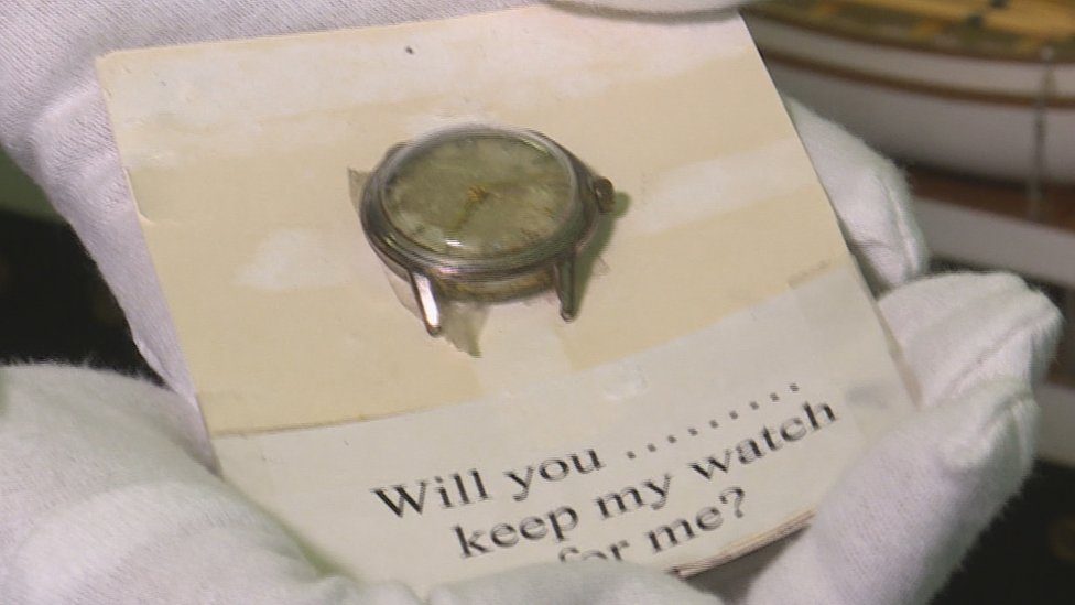 """The watch is quite ordinary but curators say it has an """"extraordinary"""" story to tell"""