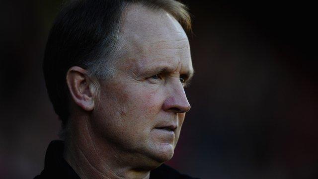 Walsall head coach Sean O'Driscoll