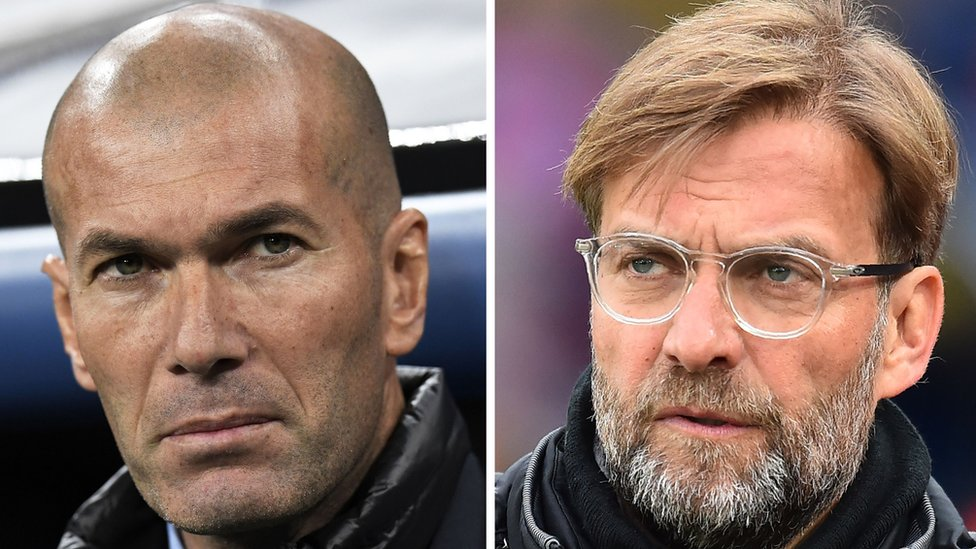 Zidane y Klopp