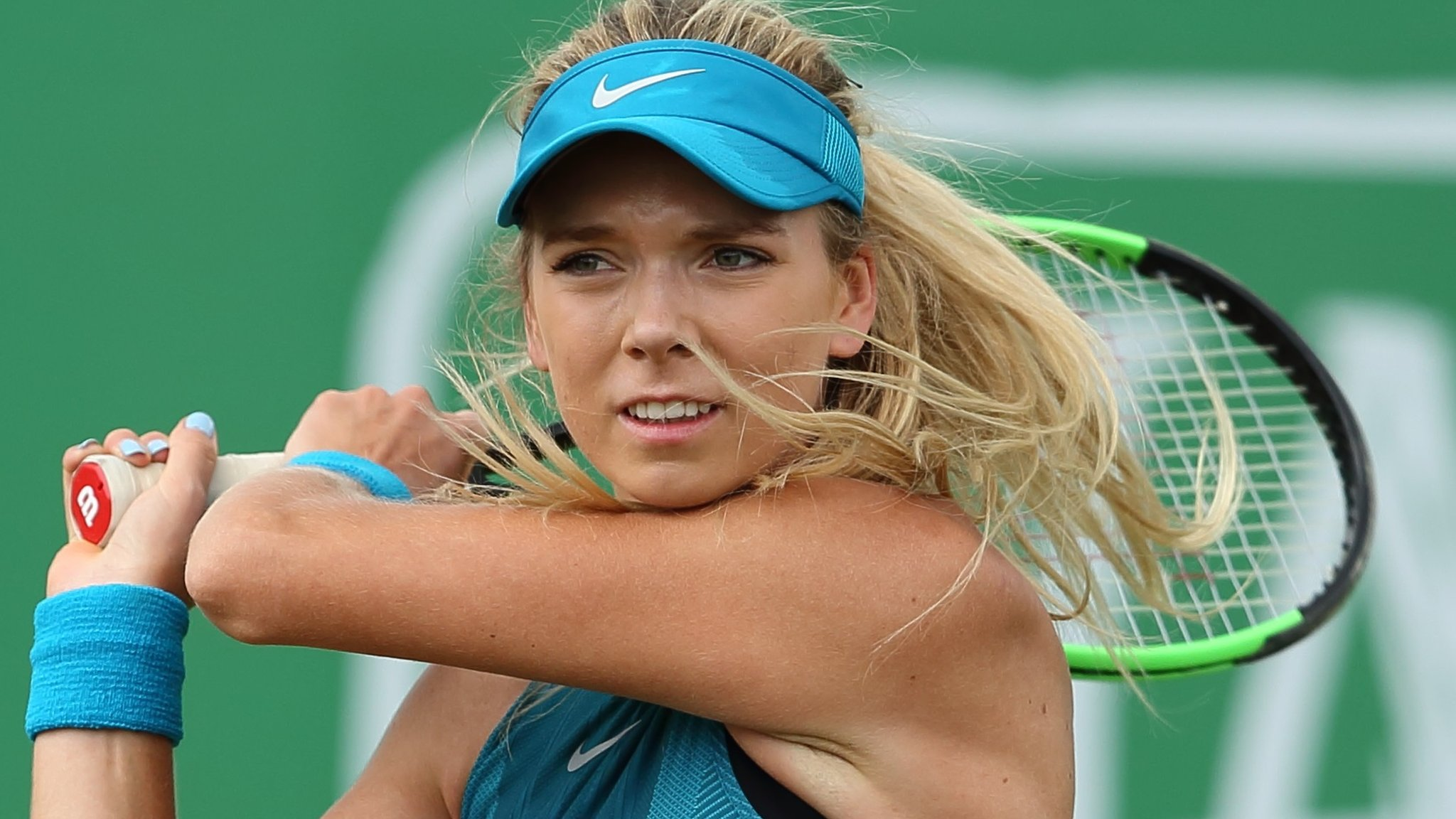 Tianjin Open: Katie Boulter into last eight after three-set win