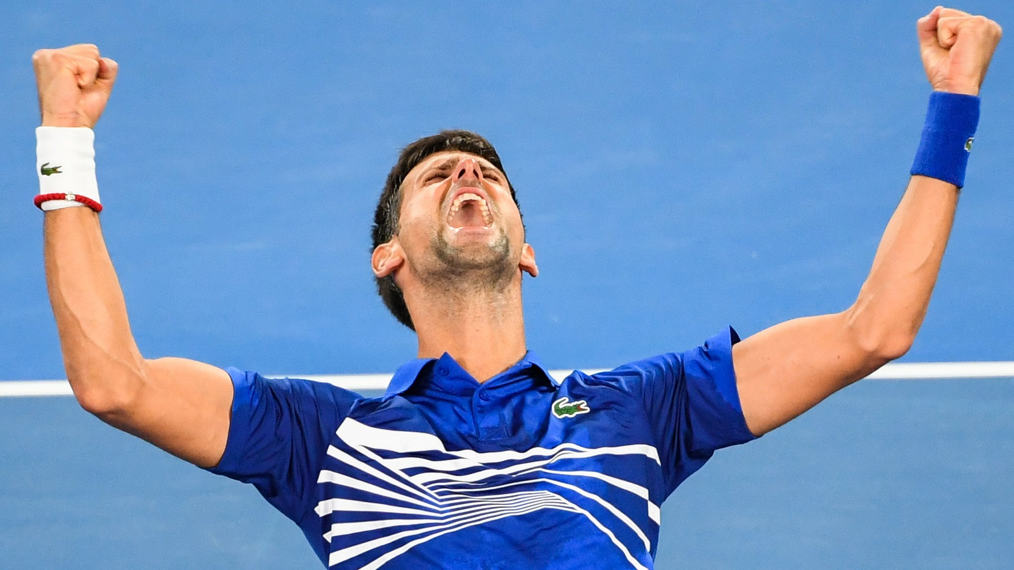 In pictures: Djokovic's record seven Melbourne titles
