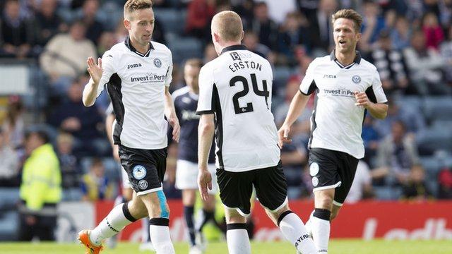Highlights - Dundee 2-1 St Johnstone