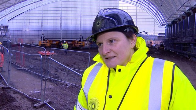 Catriona McAllister, chief executive of Oriam, the new National Performance Centre for Sport