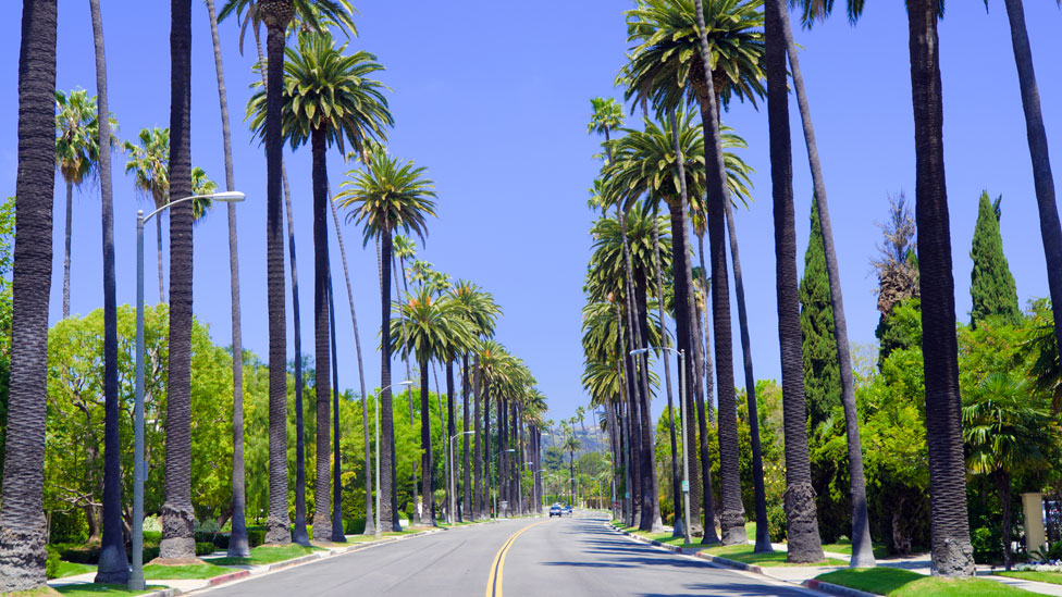 Road in Los Angeles County