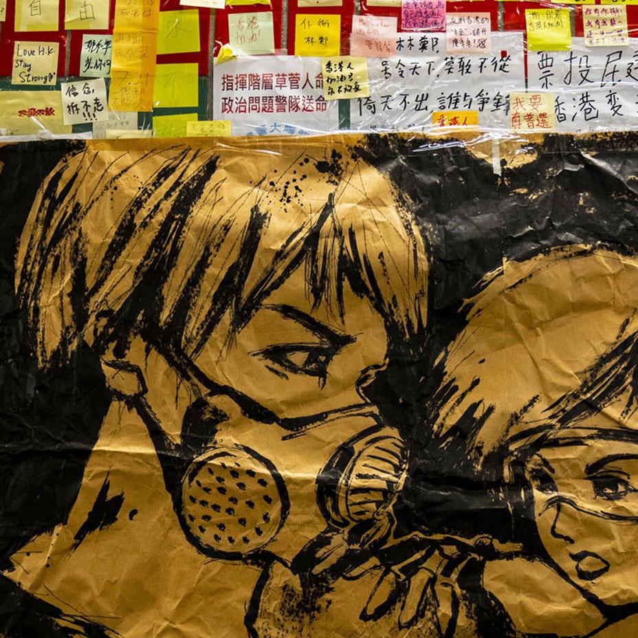 Hong Kong's Lennon Walls