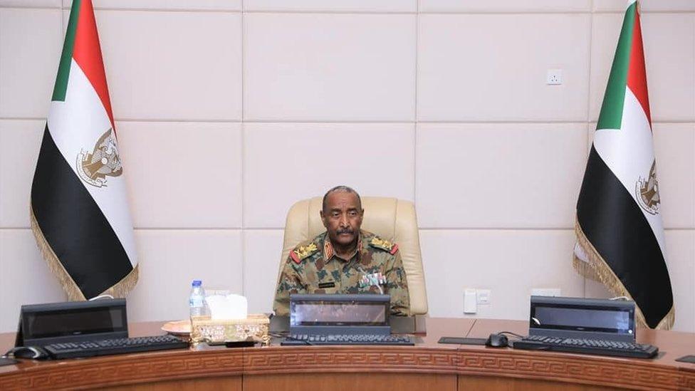 رئيس مجلس السيادة الانتقالي في السودان، الفريق أول ركن عبد الفتاح البرهان