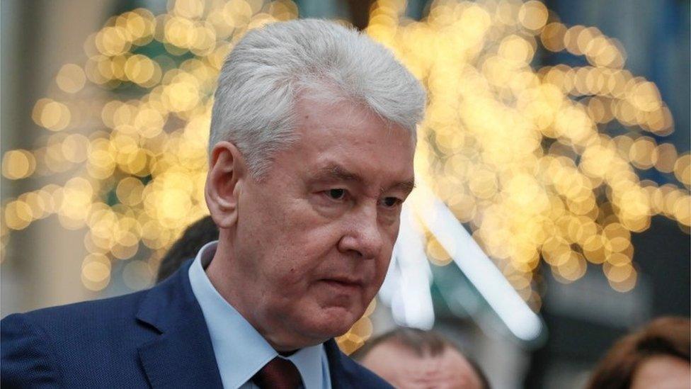 رئيس بلدية موسكو