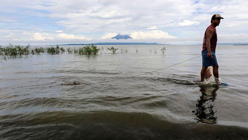 Pescador nicaragüense