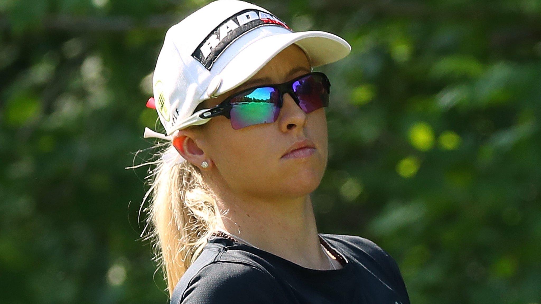 LPGA Volvik Championship: England's Jodi Ewart Shadoff two shots off lead