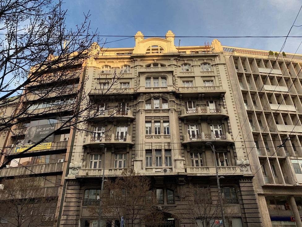 Zgrada Izvozne banke na Terazijama broj 5 oslikava je moć finansijkog sektora Jugoslavije između dva rata
