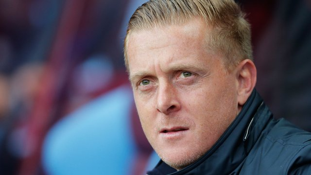 Garry Monk during his time as Swansea City manager