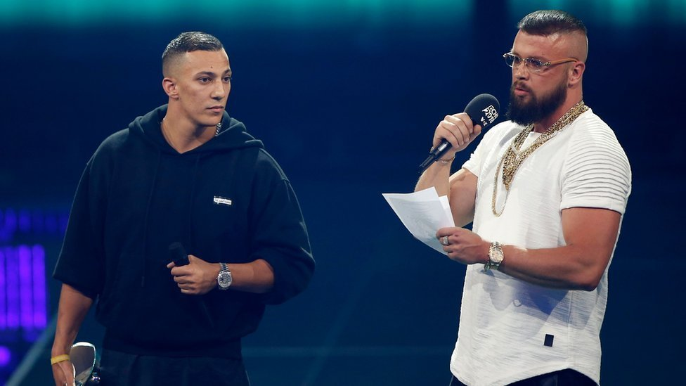German rappers anti-Semitism lyrics probe dropped