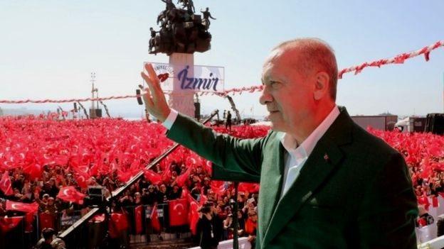 أردوغان في إزمير