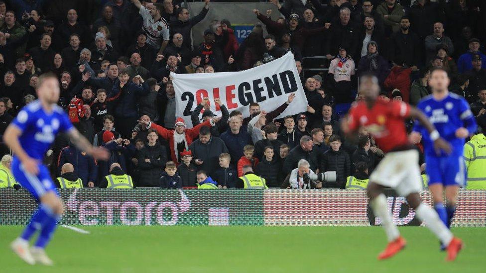 Aficionados del Manchester United