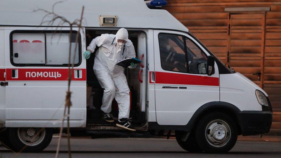 Hospital en Rusia.