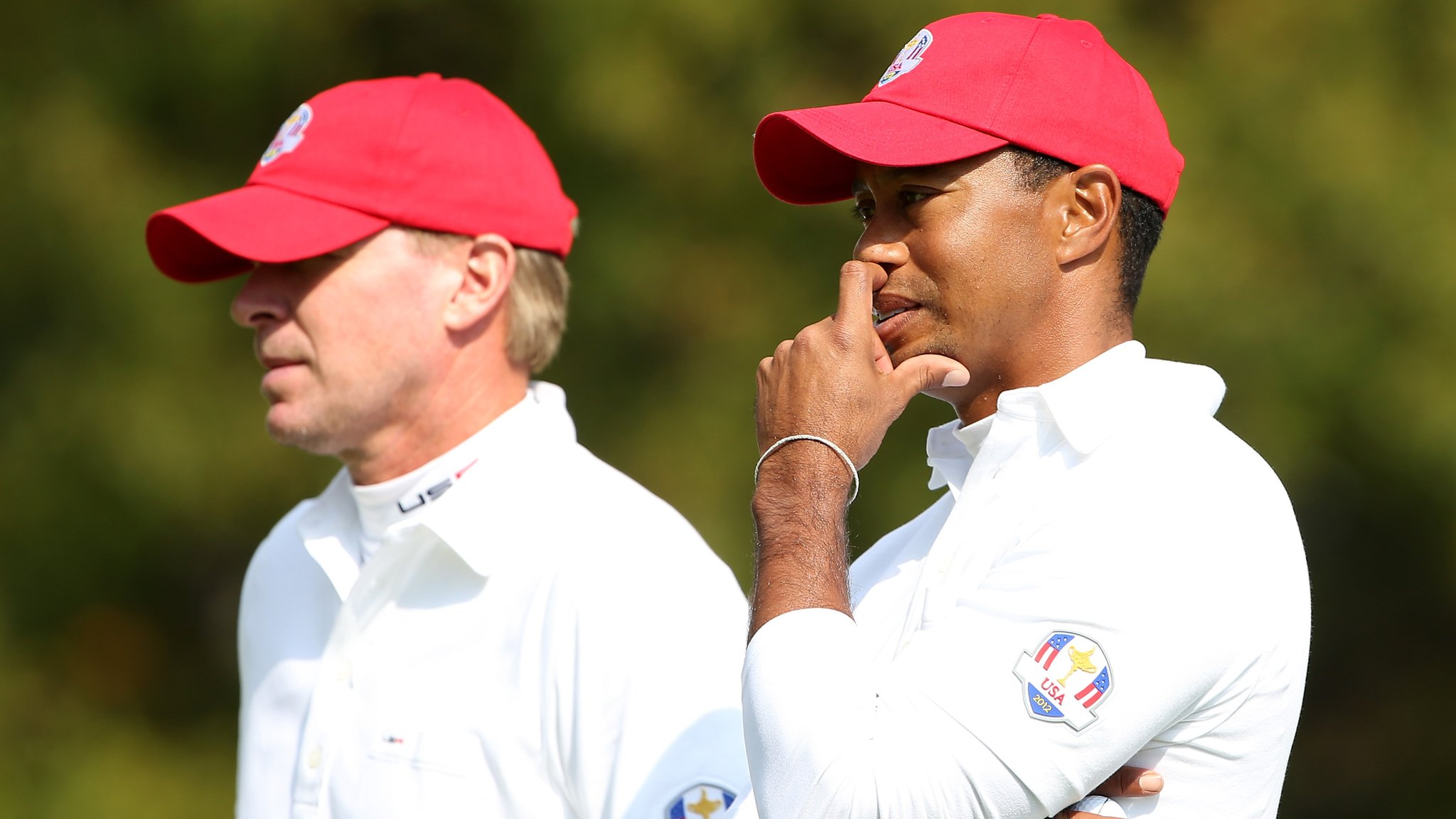 Woods and Stricker named US Ryder Cup vice-captains