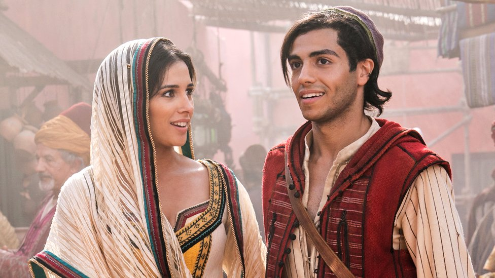Aladdin: How Disney found its leading characters