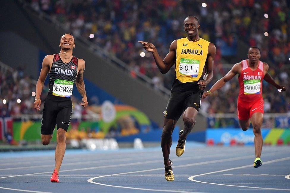 Čini se da ovu pogrešnu ideju najviše hrane naizgled lake pobede Usaina Bolta