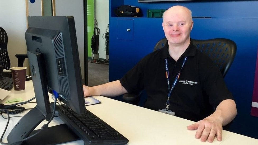 Durham Police volunteer 'proud to have Down's syndrome'