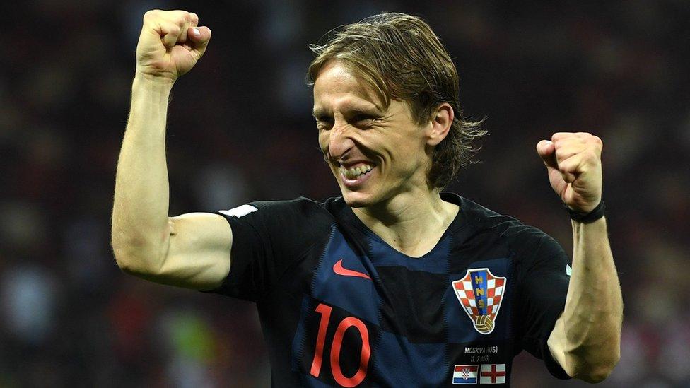Luka Modric está considerado hoy en día como el mejor centrocampista del mundo.