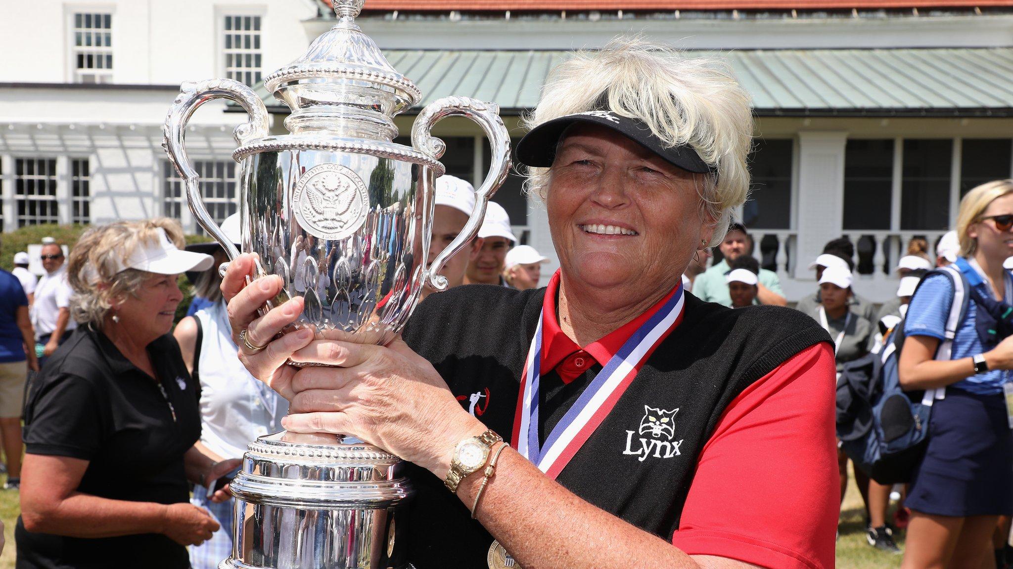 US Senior Women's Open: Laura Davies triumphs at Chicago Golf Club