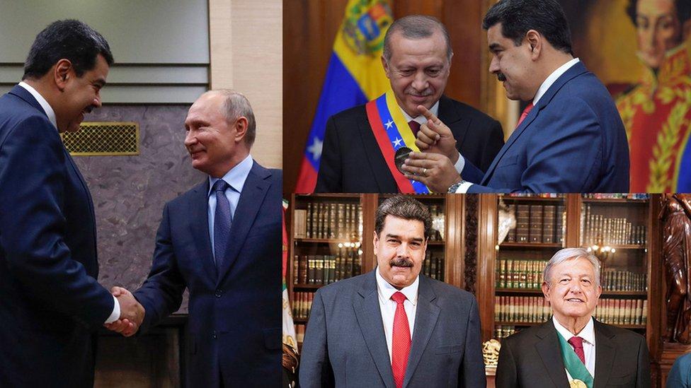 Maduro, Putin, Erdogan y Amlo