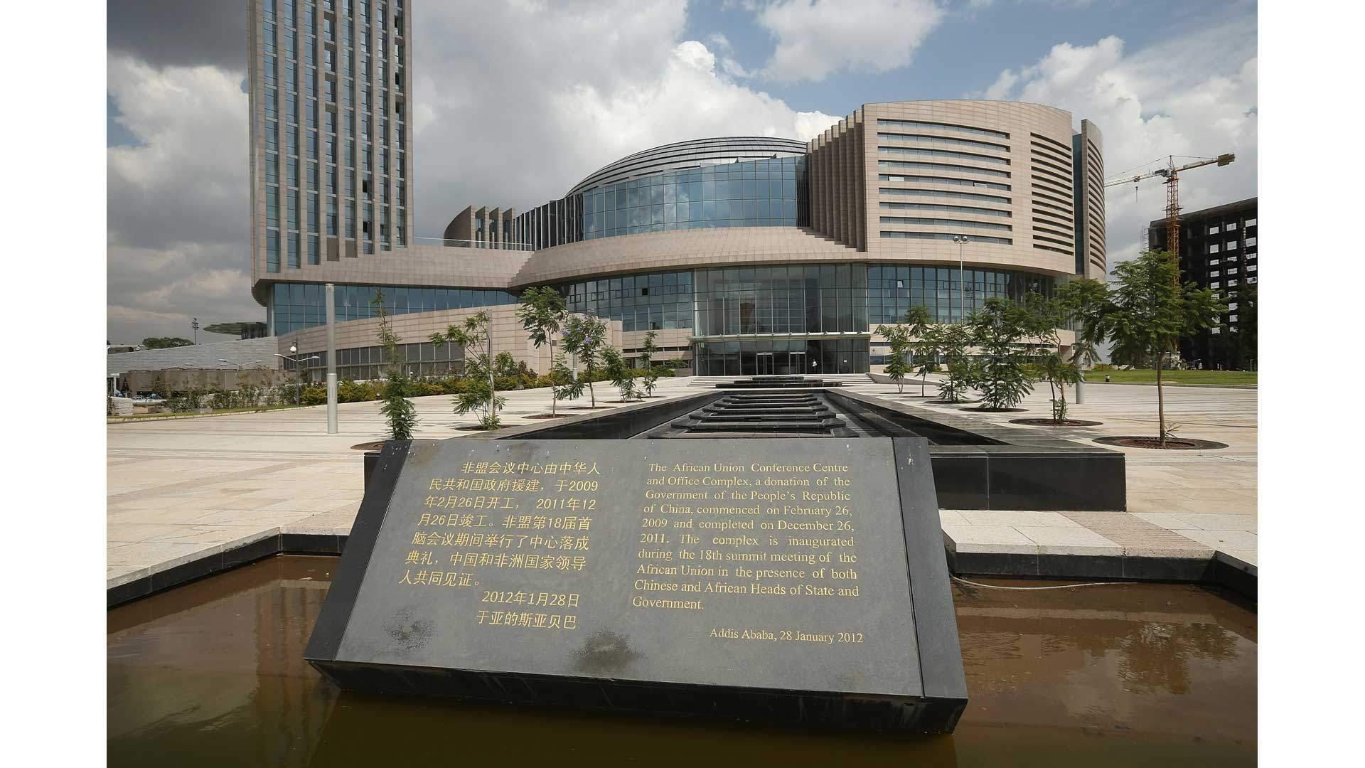 Selesai dibangun tahun 2012, gedung markas Uni Afrika ini jadi kebanggaan akan kedekatan hubungan Afrika dengan Cina