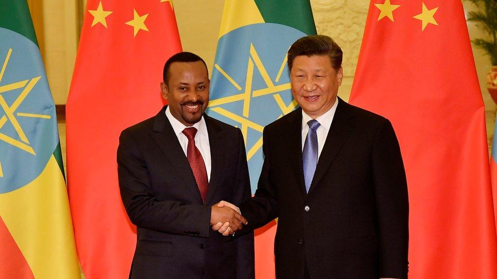 阿比和習近平2019年4月在北京