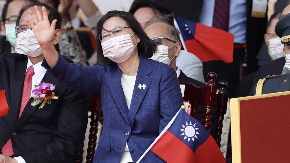 رئيسة تايوان تساي إنغ وين