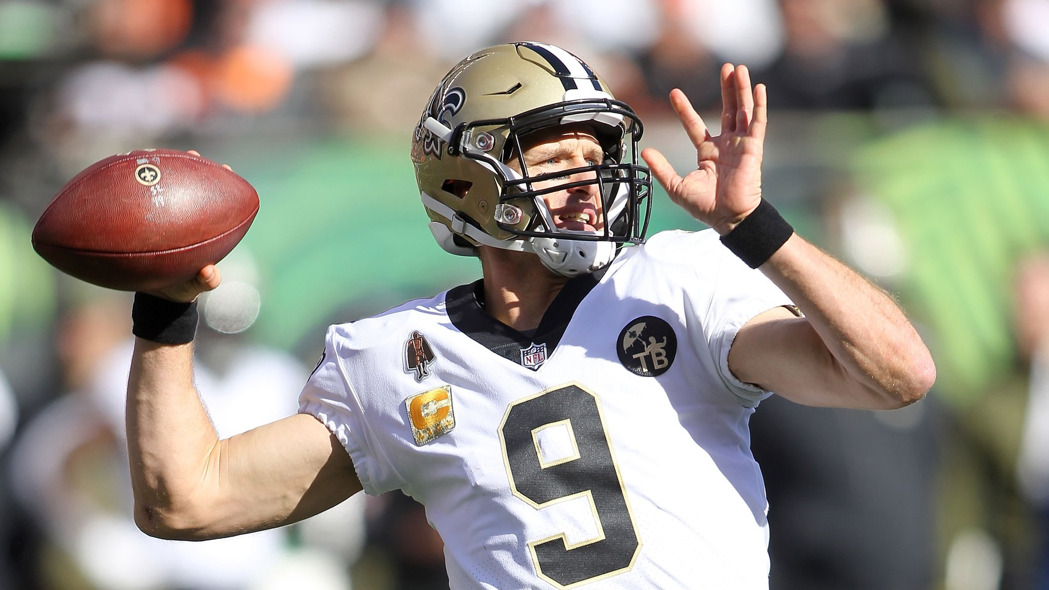 NFL week 10 review: Quarterback Drew Brees stars as New Orleans Saints make it eight wins in a row