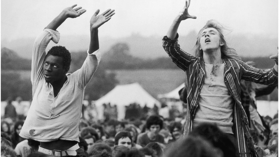 In pictures: Isle of Wight Festival at 50